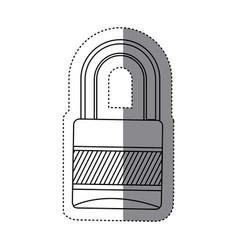 padlock icon image stock vector image