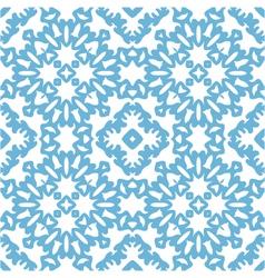 seamless geometric mandala pattern vector image