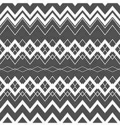 Tribal Boho Seamless Pattern Ethnic Geometric vector image vector image