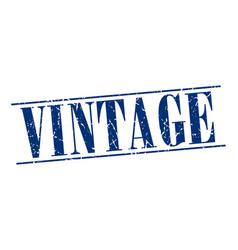 vintage blue grunge vintage stamp isolated on vector image