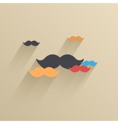 Creative flat ui icon background eps 10 vector