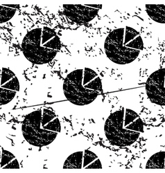 Diagram pattern grunge monochrome vector