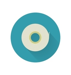 Scotch tape icon in flat style design vector