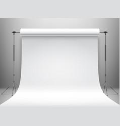 White studio background vector