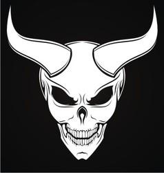 Horned evils vector
