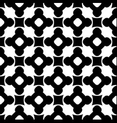 Monochrome seamless pattern ornament texture vector