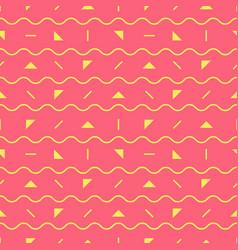 Pink geometric pattern vector