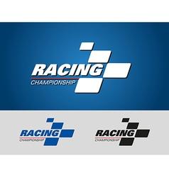Racing champions logo vector