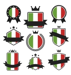 World flags series flag of italy vector