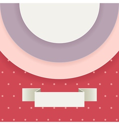 Abstract background in retro style with text field vector image vector image