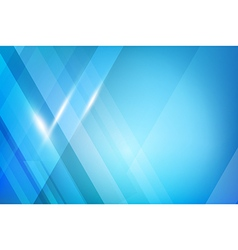 Blue Abstract background geometry shine and layer vector image vector image