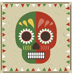 day of the dead decoration vector image