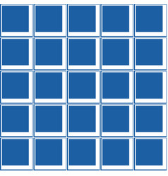 Geometrical seamless pattern square in a square vector