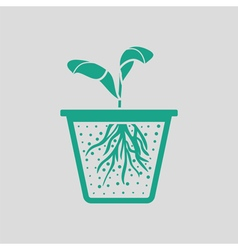 Seedling icon vector image