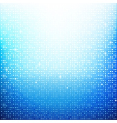 Blue Brick pixel mosaic abstract background 002 vector image