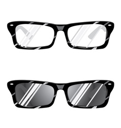 Hipster glasses3 vector