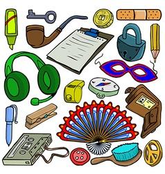 Cartoonish objects vol 5 vector