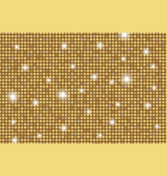 gold shining rounds seamless texture gold vector image
