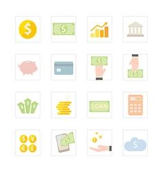 Icon banking vector