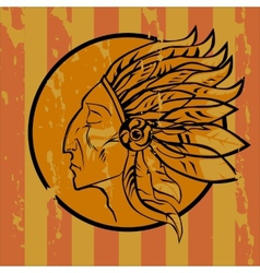 Leader Redskins vector image