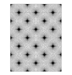 Square block print wallpaper vector image vector image