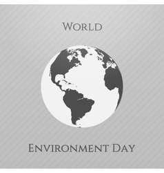 World Environment Day awareness Background vector image vector image