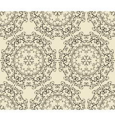 Seamless vintage highly detailed hexagon pattern vector