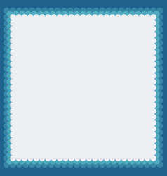 decorative photoframe vector image