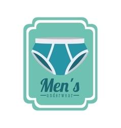 Men underwear design vector