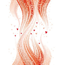 Love flames vector image