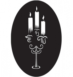 Candlesticks vector