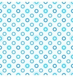 Modern seamless blue polka dot pattern vector
