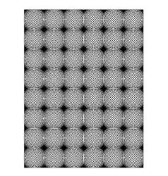 Square block print wallpaper vector