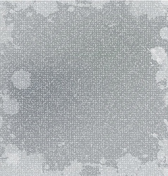 grunge fabric texture vector image