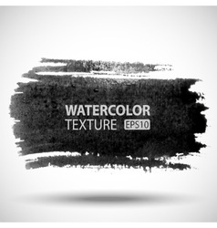 Hand drawn watercolor grunge background vector