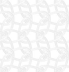 3d vertical interlocking ornament vector
