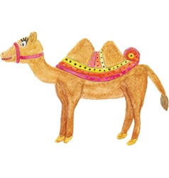Beautiful camel vector