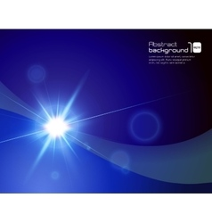 Abstract background with flare vector image vector image