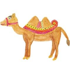 Beautiful camel vector