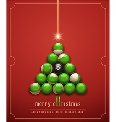 Creative Christmas Card vector image