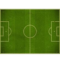 football field vector image