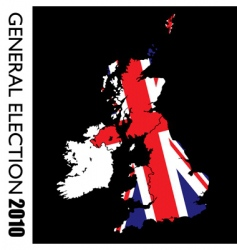 general election British vector image vector image