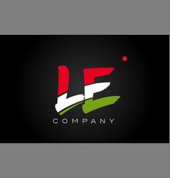 Le l e alphabet letter logo combination icon vector