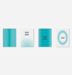 minimal trendy covers vector image vector image