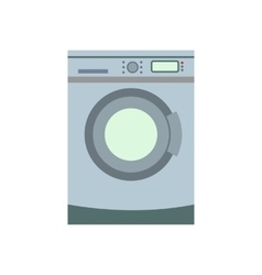Washer flat icon vector image