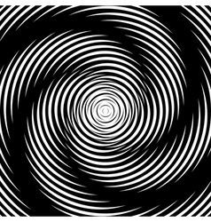 Design whirlpool movement background vector