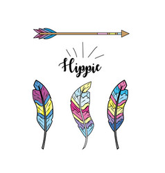 Hippie culture of peace and love to lifestyle vector