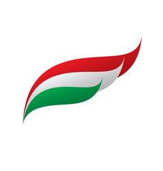 Hungary flag vector