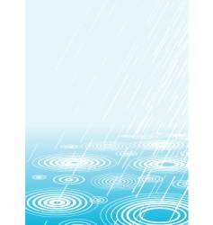 Light rain vector