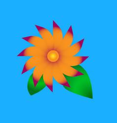 Simple flower vector